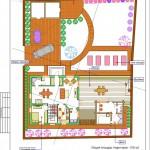 Вариант планировки участка с учетом требований васту-архитектуры