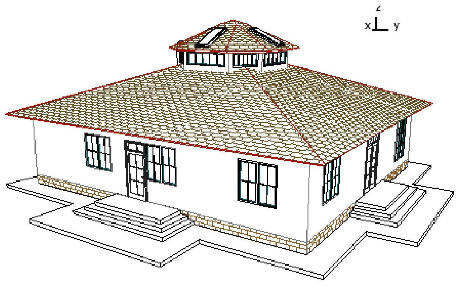 Эскиз фасада