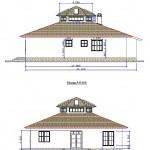 Планы фасадов