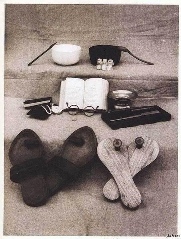Личные вещи Махатмы Ганди